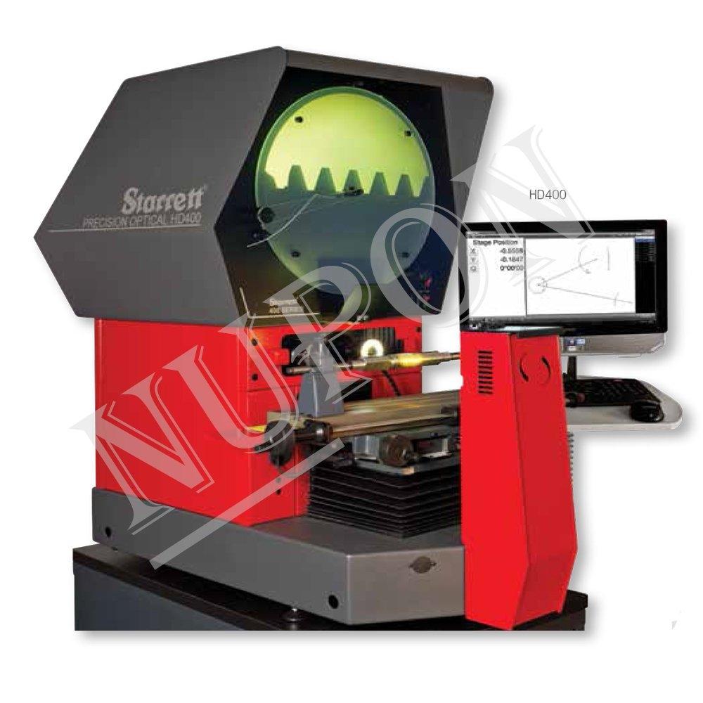 STARRETT HD400 Horizontal Benchtop Optical Comparator