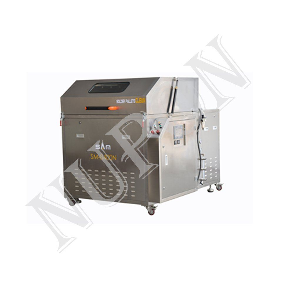 SM-8400N Wave solder pallets cleaning machine