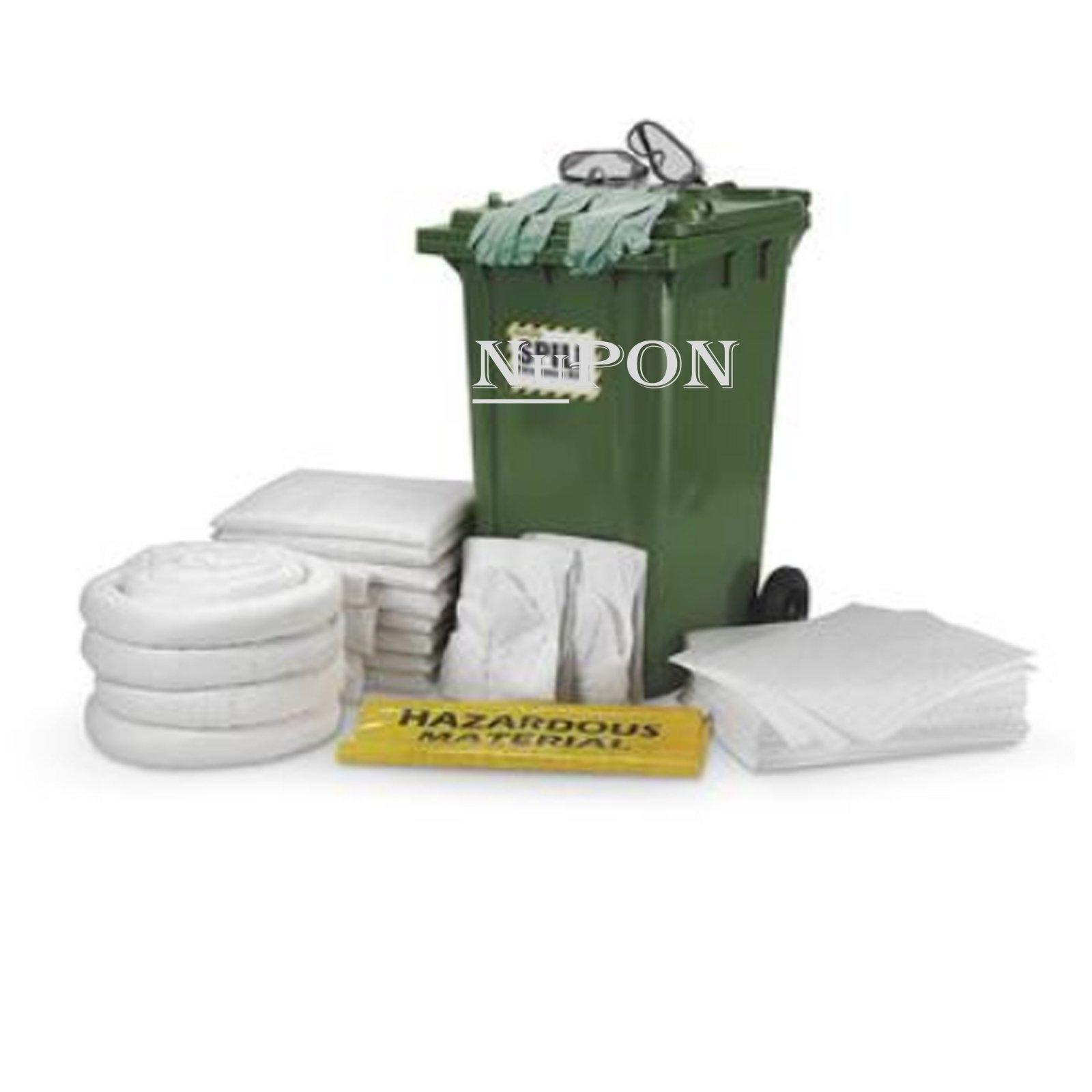 240 Litre Dispenser Spill Kit Cart - Oil Only