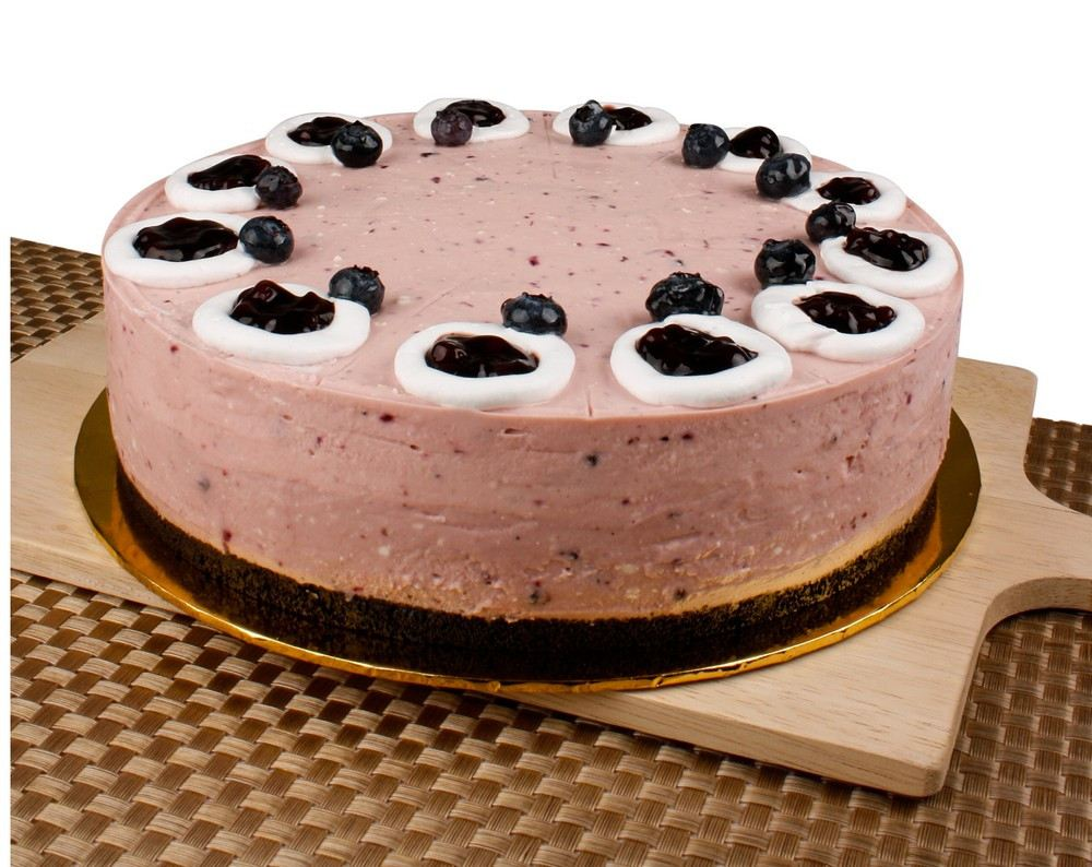 Blueberry Cheese Cake with Oreo Base