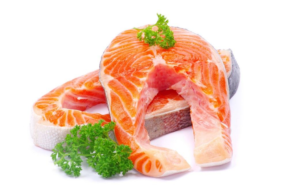 Salmon Steak Cut