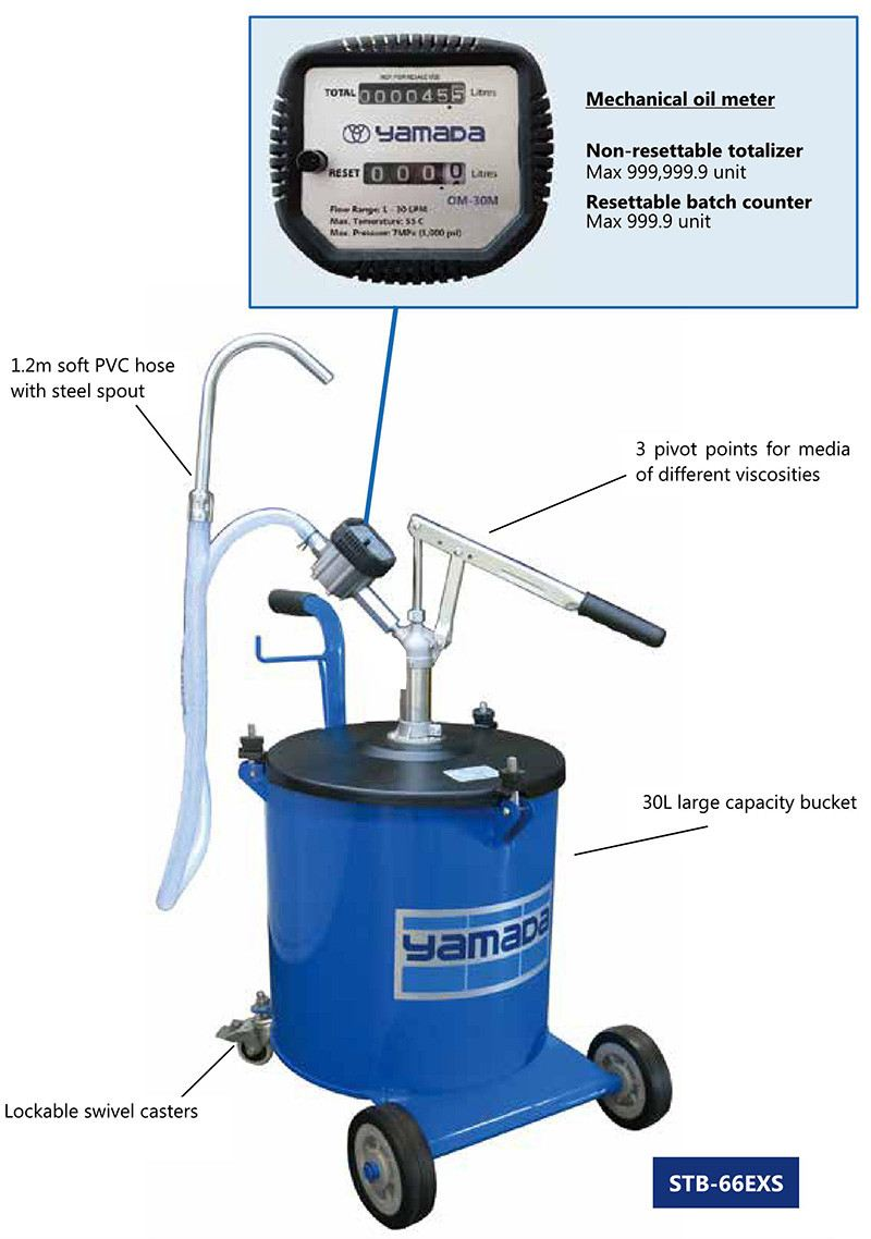 Hand Oil Bucket Pump (STB-66EXS)