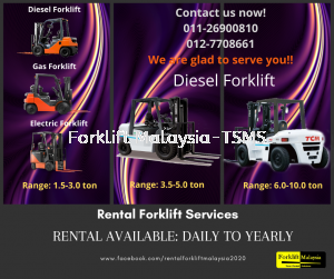Forklift company in Malaysia