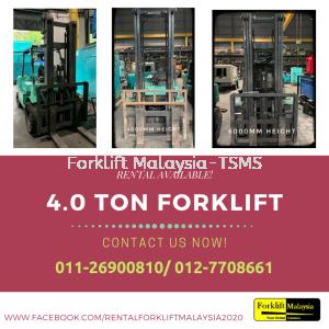Forklift Rental Price Malaysia