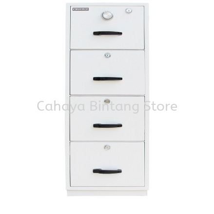 FIRE RESISTANT CABINET 4 DRAWER (INDIVIDUAL LOCKING) SAND BEIGE COLOR