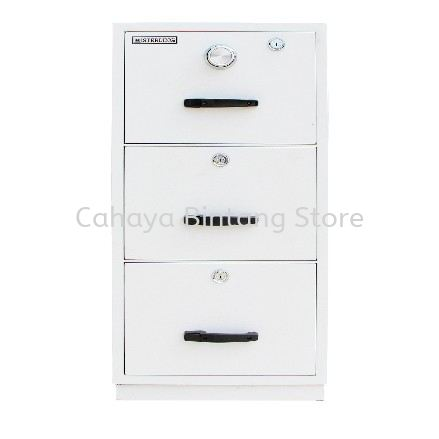 FIRE RESISTANT CABINET 3 DRAWER (INDIVIDUAL LOCKING) SAND BEIGE COLOR