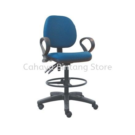 DC12 DRAFTING CHAIR C/W POLYPROPYLENE BASE