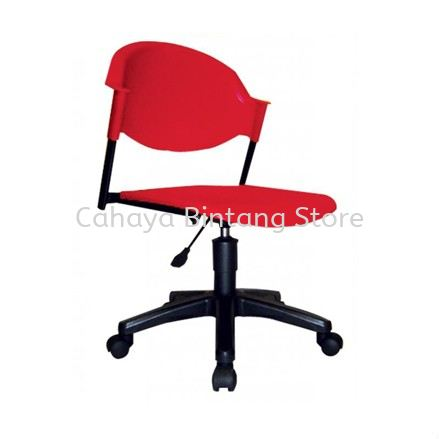 SC10-1 STUDENT CHAIR WITHOUT ARMREST C/W GASLIFT & POLYPROPYLENE BASE