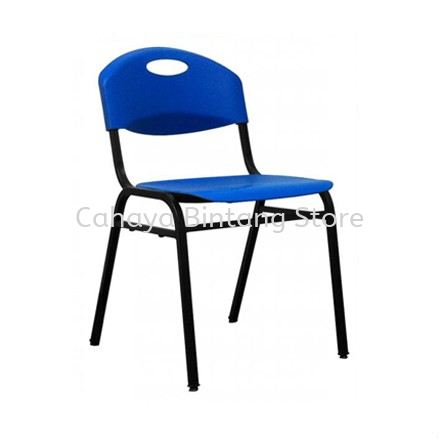 SC13M STUDENT CHAIR WITHOUT ARMREST C/W 4 LEGGED EPOXY METAL BASE