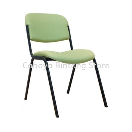SC16 STUDENT CHAIR WITHOUT ARMREST C/W 4 LEGGED EPOXY BLACK METAL BASE