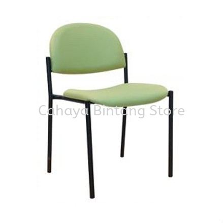 SC15 STUDENT CHAIR WITHOUT ARMREST C/W 4 LEGGED EPOXY BLACK METAL BASE