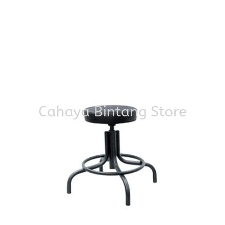 LOW PRODUCTION STOOL C/W EPOXY BLACK METAL BASE PS1-1
