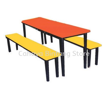 6 SEATER CANTEEN TABLE (PORTABLE)