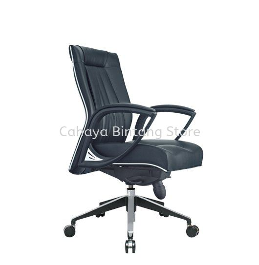 JESSI II  DIRECTOR LOW BACK LEATHER OFFICE CHAIR - BEST RECOMMENDED DIRECTOR OFFICE CHAIR | DIRECTOR OFFICE CHAIR KELANA CENTRE | DIRECTOR OFFICE CHAIR BANDAR SUNWAY | DIRECTOR OFFICE CHAIR TITIWANGSA