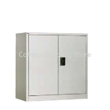 A112 HALF HIGH STEEL SWINGING DOOR CUPBOARD