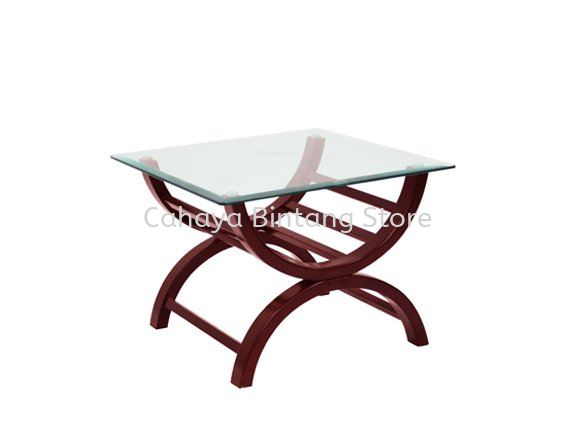ALEXIS SQUARE COFFEE TABLE C/W TEMPERED GLASS TABLE TOP OFFICE SOFA - BEST SELLING OFFICE SOFA l OFFICE SOFA BANDAR BOTANIK l OFFICE SOFA BANDAR BUKIT RAJA l OFFICE SOFA SELAYANG