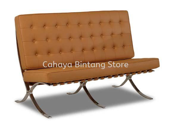 BARCELONA TWO SEATER OFFICE SOFA - BEST COMFORTABLE OFFICE SOFA l OFFICE SOFA BANDAR BARU KLANG l OFFICE SOFA BANDAR BUKIT TINGGI l OFFICE SOFA GOMBAK