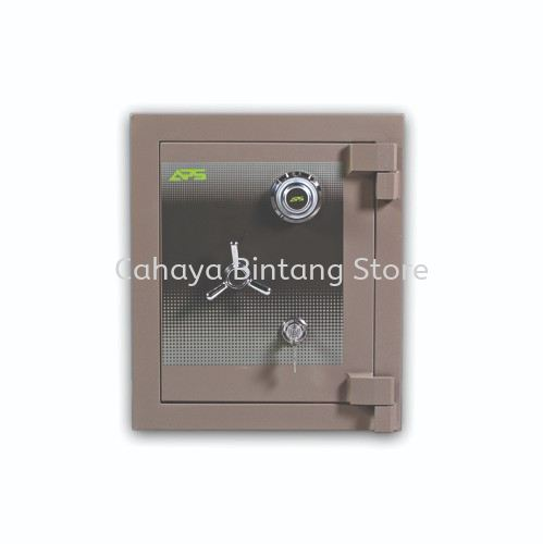 HOME SERIES STEEL SS2 SAFE BROWN (KL&KCL)