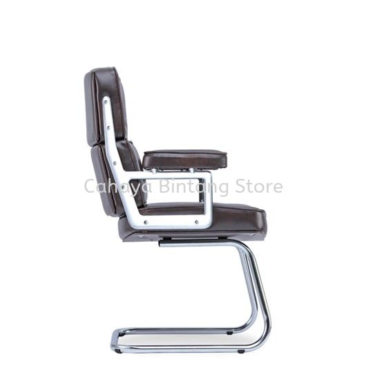 MODY DIRECTOR VISITOR LEATHER OFFICE CHAIR - BEST COMFORTABLE DIRECTOR OFFICE CHAIR | DIRECTOR OFFICE CHAIR CYBERJAYA | DIRECTOR OFFICE CHAIR PUTRAJAYA | DIRECTOR OFFICE CHAIR SEREMBAN