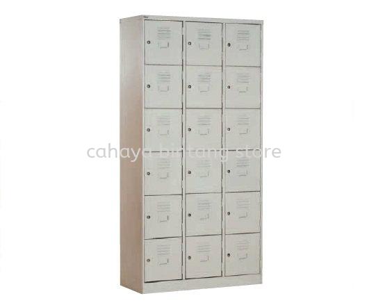 18 COMPARTMENT STEEL LOCKER - steel locker Taman Bandaraya | steel locker Damansara Height | steel locker Bangsar Baru
