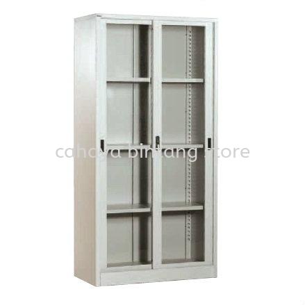 FULL HEIGHT GLASS SLIDING DOOR FILING CABINET/STEEL CUPBOARD - Filing Cabinet Ampang | Filing Cabinet Bukit Gasing | Filing Cabinet Cheras