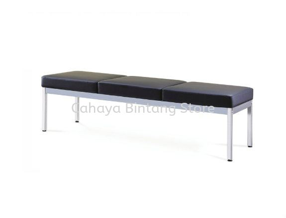 THREE SEATER LINK VISITOR CHAIR - OFFICE FURNITURE SHOP LINK VISITOR CHAIR | LINK VISITOR CHAIR TAMAN PUCHONG UTAMA | LINK VISITOR CHAIR PUTRAJAYA | LINK VISITOR CHAIR TAMAN CONNAUGHT