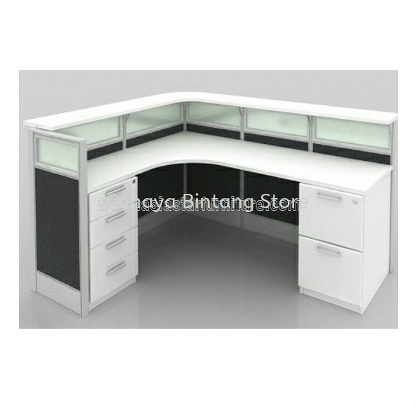SUPERIOR RECEPTION COUNTER OFFICE TABLE - reception counter office table kwasa damansara | reception counter office table setia alam | reception counter office table gombak