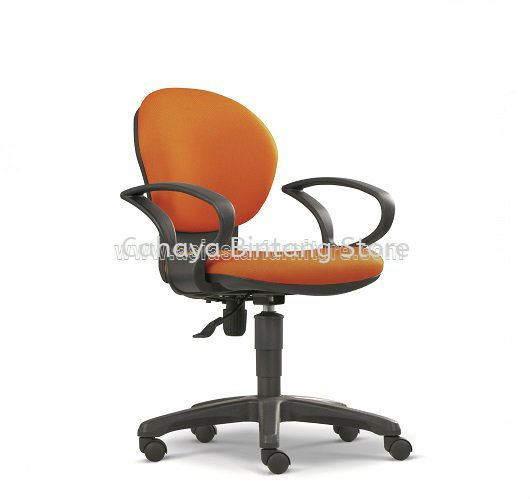 FIMIR SECRETARIAL LOW BACK FABRIC CHAIR C/W POLYPROPYLENE BASE ASE 2034