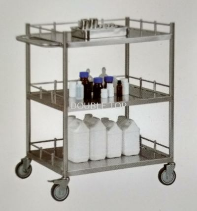 Stainless Steel Trolley