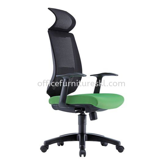 SERESTA 1 HIGH BACK ERGONOMIC MESH CHAIR C/W FIXED ARMREST