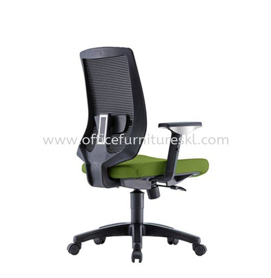 SERESTA 2 MEDIUM BACK ERGONOMIC MESH CHAIR C/W ADJUSTABLE ARMREST