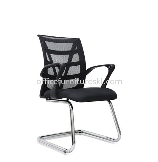 CASAO VISITOR ERGONOMIC MESH CHAIR WITH CHROME CANTILEVER BASE