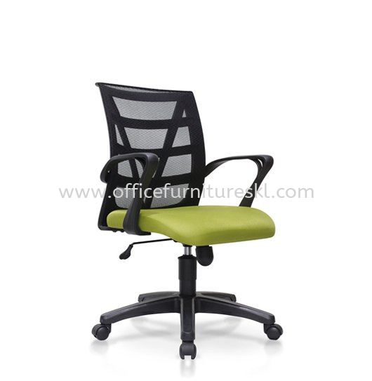 CASAO LOW BACK ERGONOMIC MESH OFFICE CHAIR WITH POLYPROPYLENE BASE-ergonomic mesh office chair bandar sunway   ergonomic mesh office chair intermark mall   ergonomic mesh office chair office director chair ready stock