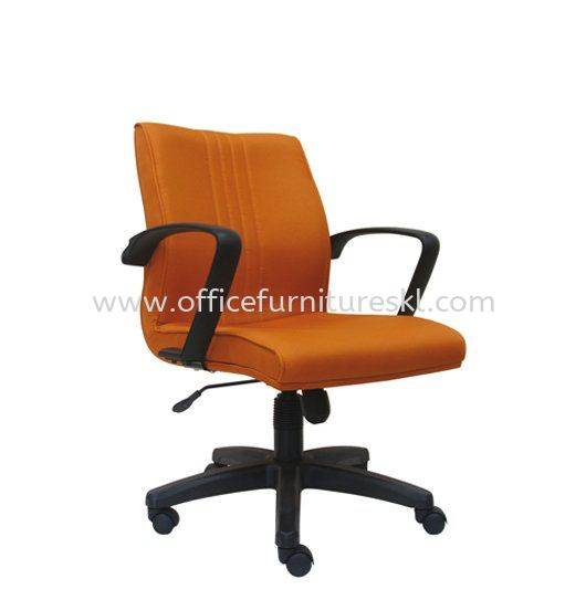 LINER FABRIC LOW BACK OFFICE CHAIR - Top 10 Most Popular Fabric Office Chair | Fabric Office Chair Taman Desa | Fabric Office Chair Kuchai Entrepreneurs Park | Fabric Office Chair Puncak Kiara
