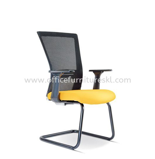 TALENT 2 VISITOR ERGONOMIC MESH CHAIR WITH EPOXY BLACK CANTILEVER BASE ASE 2657