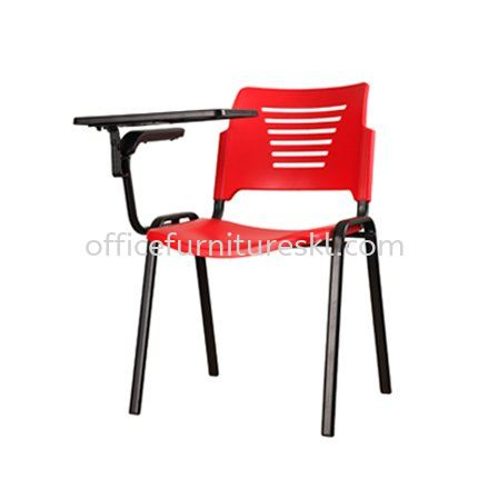 TRAINING/STUDY CHAIR - PLASTIC CHAIR AEXIS PP C/W TABLET - Office Chair 365 Days Warranty Training/Study Chair - Plastic Chair | Training/Study Chair - Plastic Chair Hicom Industrial Estate | Training/Study Chair - Plastic Chair Shah Alam Premier Industrial Park | Training/Study Chair - Plastic Chair Pandan Jaya
