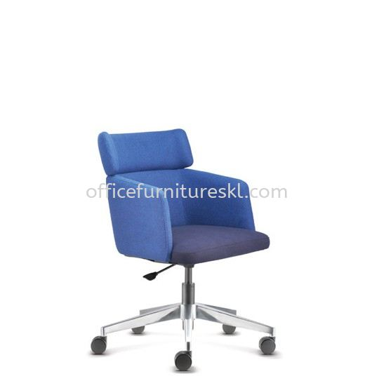ANTHOM EXECUTIVE MEDIUM BACK FABRIC OFFICE CHAIR - office chair taman maluri   office chair glo damansara shopping mall   office chair must buy