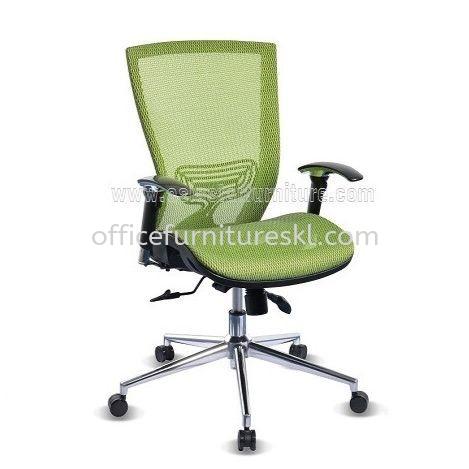 ADORA FULL MESH MEDIUM BACK ERGONOMIC OFFICE CHAIR WITH CHROME BASE- ergonomic mesh office chair mutiara tropicana   ergonomic mesh office chair setiawangsa   ergonomic mesh office chair top 10 best  office chair