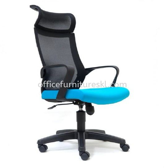 OWER 2 HIGH BACK ERGONOMIC MESH CHAIR WITH PP BASE
