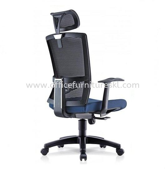 NIMO 1 HIGH BACK ERGONOMIC MESH CHAIR WITH FIXED T SHAPE ARMREST 1HB