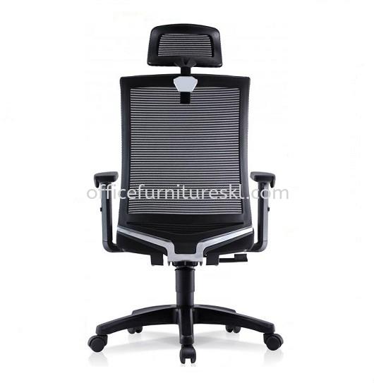 EVIN 2 HIGH BACK ERGONOMIC MESH OFFICE CHAIR WITH ADJUSTABLE ARMREST-ergonomic mesh office chair bukit jelutong   ergonomic mesh office chair au2 setiawangsa   ergonomic mesh office chair office chair 365 days warranty