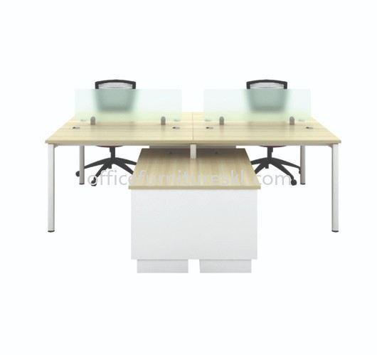 MUPHI CLUSTER OF 4 OFFICE PARTITION WORKSTATION - Top 10 Best Value Partition Workstation   Partition Workstation Kelana Jaya   Partition Workstation Kelana Square   Partition Workstation Taman Connaught