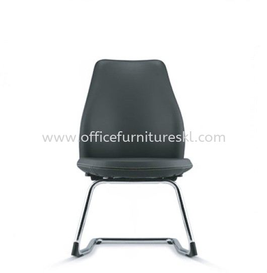 EVE DIRECTOR VISITOR LEATHER OFFICE CHAIR WITH CHROME CANTILEVER BASE-director office chair jalan sultan ismail | director office chair jalan ampang | director office chair jalan yap kwan seng