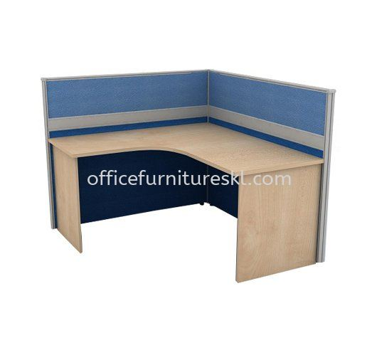 CLUSTER OF 1 OFFICE PARTITION WORKSTATION 6 - Top 10 Best Value Partition Workstation   Partition Workstation Tropicana   Partition Workstation Mutiara Tropicana   Partition Workstation Setapak