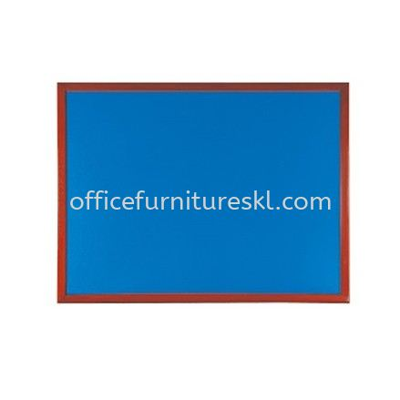 OFFICE NOTICE BOARD WOODEN FRAME BROWN COLOUR - promotion | notice board balakong | notice board mahkota cheras | notice board puchong