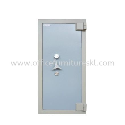 BANKER SAFE SS-AS65 SIZE FOUR (4) BLUE GREY COLOUR
