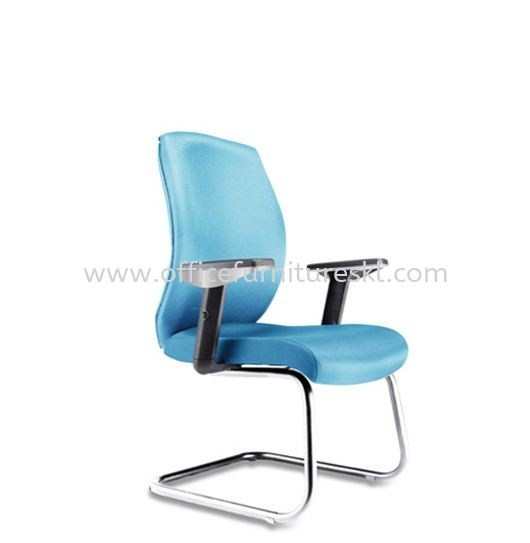 HALEY EXECUTIVE VISITOR FABRIC OFFICE CHAIR - selling fast | executive office chair sunway giza mall | executive office chair dataran sunway | executive office chair pandan indah