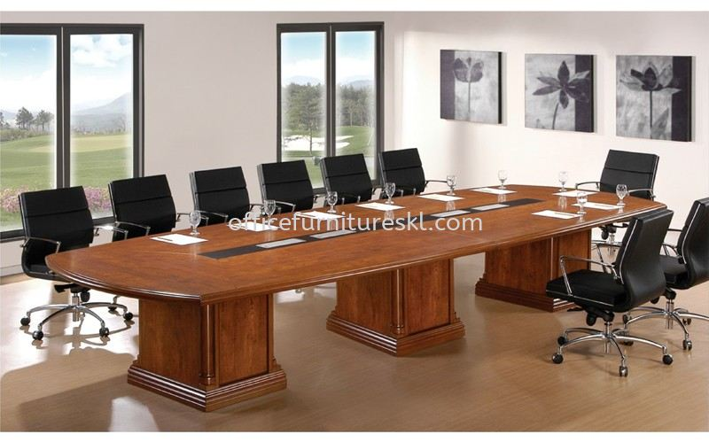 D 688 BOAT SHAPE CONFERENCE TABLE