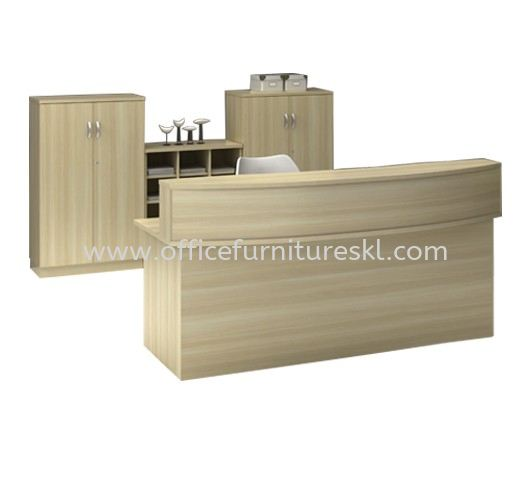 MUPHI RECEPTION COUNTER OFFICE TABLE - top 10 best selling reception counter office table | reception counter office table loi boulevard | reception counter office table loi mall puchong | reception counter office table ampang avenue