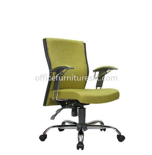 CONLAY EXECUTIVE LOW BACK FABRIC OFFICE CHAIR - office chair intermark mall | office chair sunway mentari | office chair top 10 best value office chair